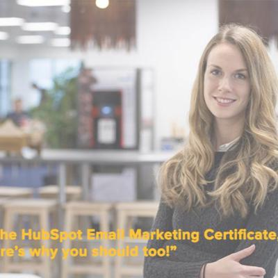 I Did The HubSpot Email Marketing Certificate, And Here's Why You Should Too! - 31:05:2017, 09.43