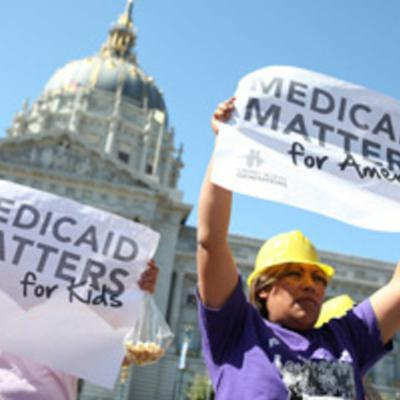 Cover art for Is it a myth that Medicaid is broken?