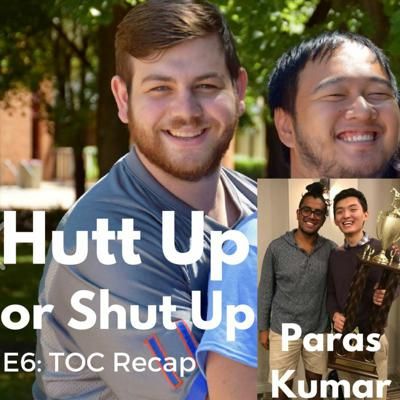 Cover art for Hutt Up or Shut Up Episode 6: TOC 2017 Recap