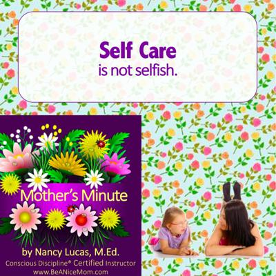 Cover art for Mom'sMinute03: Self Care - why it's not selfish