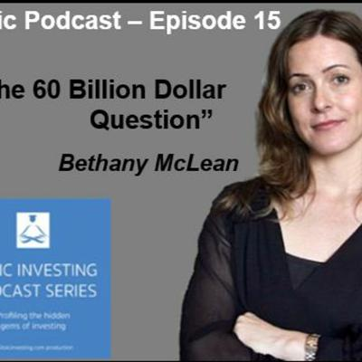 Cover art for Stoic Podcast Episode 15: Bethany McLean -