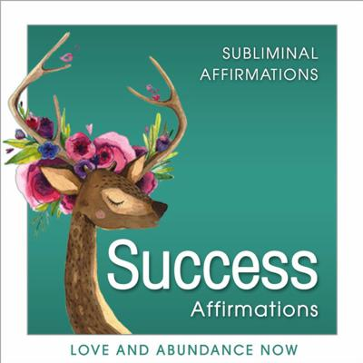 Cover art for Subliminal Audio to Attract Success, Positive Affirmations for Success & Manifest Success