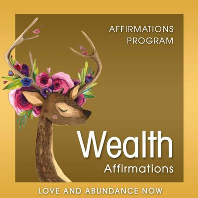 Cover art for Wealth Affirmations - Positive Affirmations for Wealth, Attract Wealth