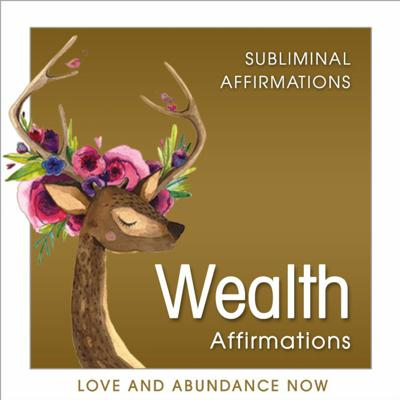 Cover art for Attract Wealth Subliminal Audio Positive Affirmations for Wealth