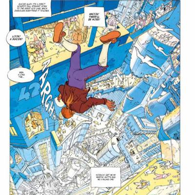 Cover art for The Incal Jes!