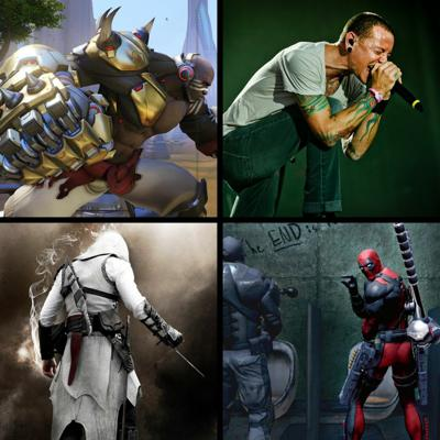 Cover art for Threadcast EP 16 - Assassin's Creed, Doomfist in Overwatch, Chester Bennington and Linkin Park