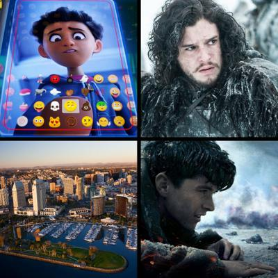 Cover art for Threadcast EP 17 - Game of Thrones, Dunkirk review, The Emoji Movie, SD breweries