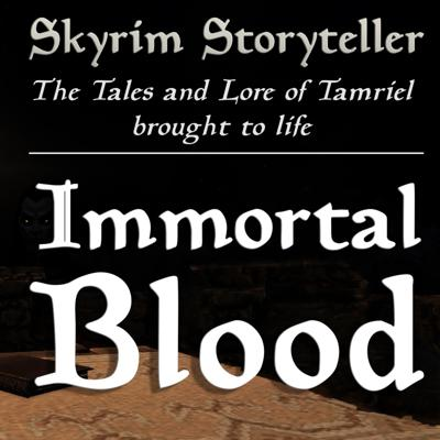 Cover art for Immortal Blood