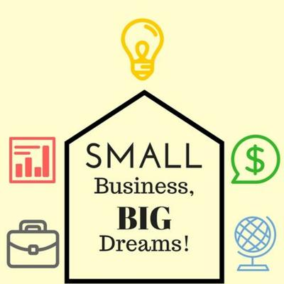 Cover art for Small Business Big Dreams Episode 1 Melissa Gauna