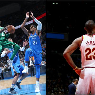 Cover art for NBA: Celtics keep winning, LeBron goes beast mode + NBA round-up