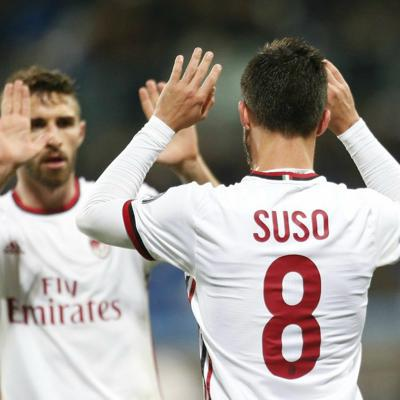 Cover art for Sassuolo 0-2 AC Milan: Romagnoli, Suso seal win, player ratings and relief for Montella