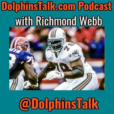 Cover art for Dolphinstalk.com Daily 12 - 7 Game Preview, Richmond Webb Interview