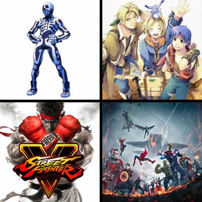 Cover art for Threadcast EP 28 - Street Fighter V, Wild Arms, Avengers: Infinity War, Disney buys Fox, Overwatch