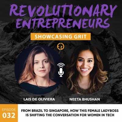 Cover art for From Brazil to Singapore, how this female ladyboss is shifting the conversation for women in tech