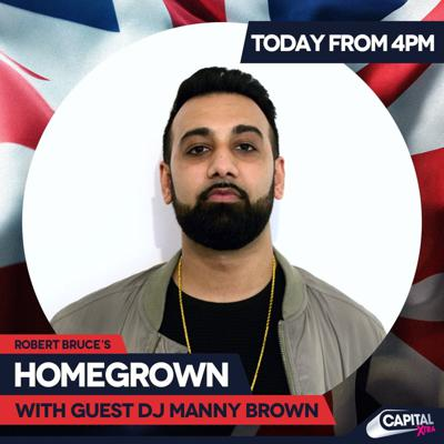 Cover art for Capital Xtra Mix - Manny Brown