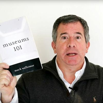 Cover art for Why I wrote Museums 101