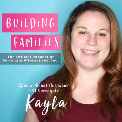 Cover art for EP #2: SAI Surrogate, Kayla, Discusses Her Surrogacy Journey
