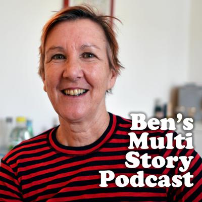 Cover art for Ben's Multi Story Podcast featuring Jenny Landreth