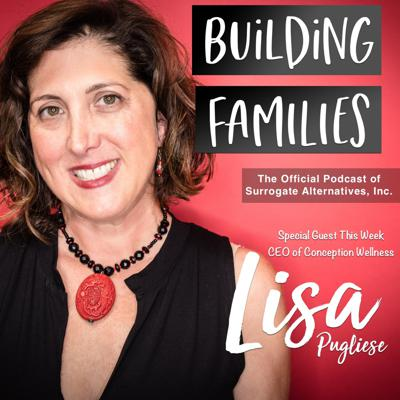 Cover art for EP #6 Surrogacy health and wellness expert, Lisa Pugliese, of Conception Wellness