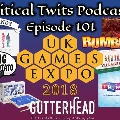 Cover art for 101 - UK Games Expo 2018