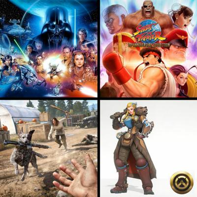 Cover art for Threadcast EP 35 - Street Fighter 30th Anniversary, Star Wars films, Farcry 5, Overwatch