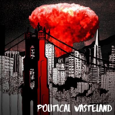 Cover art for Political Wasteland