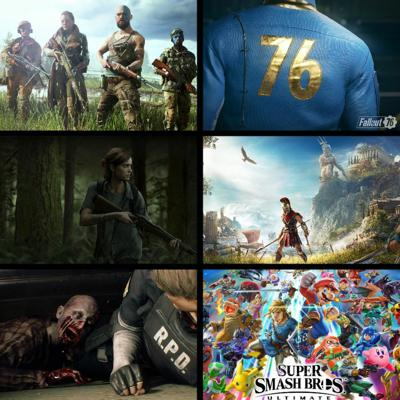 Threadcast Special EP 5 - E3 2018! Last of Us, Assassin's Creed, Super Smash Bros & 50+ other games!