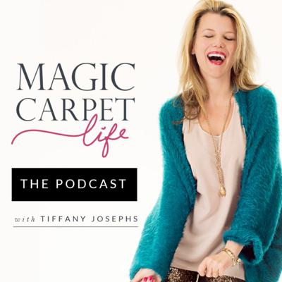 Cover art for Magic Carpet Life - Episode 12: Living Ablaze and Lighting up the World with Sarah Davison-Tracy