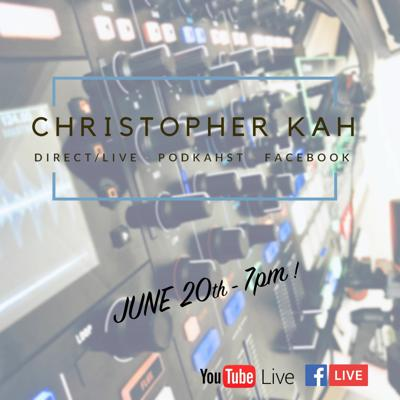 Cover art for Facebook/Youtube Live ! with Christopher Kah & an exclusive mix (Part.1)