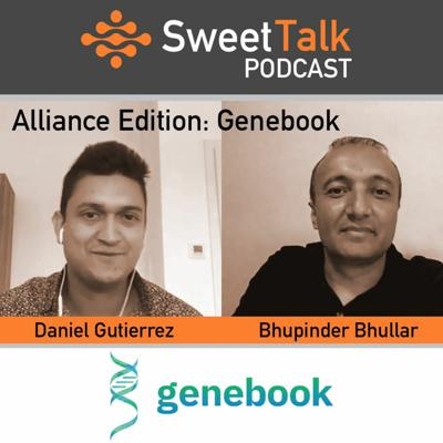 Cover art for SweetTalk - July2018 - Genebook - Gutierrez, Bhullar