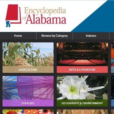 Cover art for Episode 030 Laura HIll, Encyclopedia of Alabama 10th Anniversary, May 22, 2018