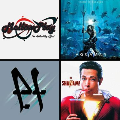 Cover art for Threadcast EP 36 - Interview and song with MellowPlay's Kevin & Danny, Shazam and Aquaman trailers