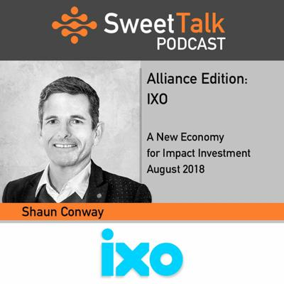 Cover art for IXO - Shaun Conway - SweetTalk Alliance Edition August 2018