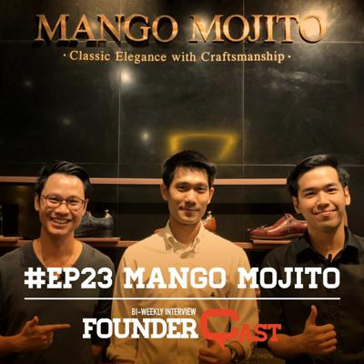 Cover art for FounderCast EP 23: คุยกับคุณวัธ Co-founder, Mango Mojito (Part 2)