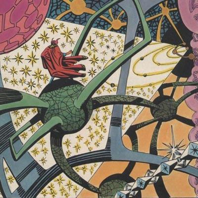 Cover art for Ditko