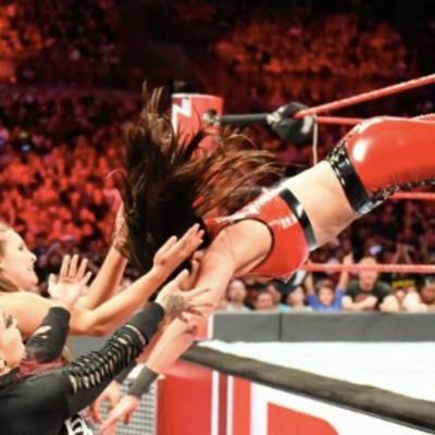 Cover art for RAW makes no sense, Are the Bellas bad for women's wrestling?