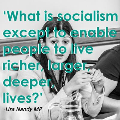 Cover art for Radical Solutions EP1 - Lisa Nandy MP