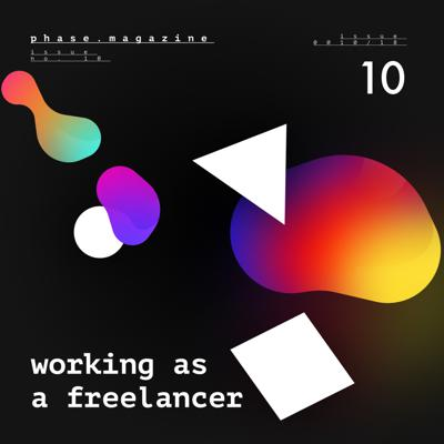 Cover art for Issue #10 – Working as a Freelance Designer