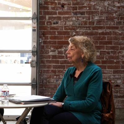 Cover art for Coffee & Poets #39. Bob Stanley interviewing Mary Zeppa