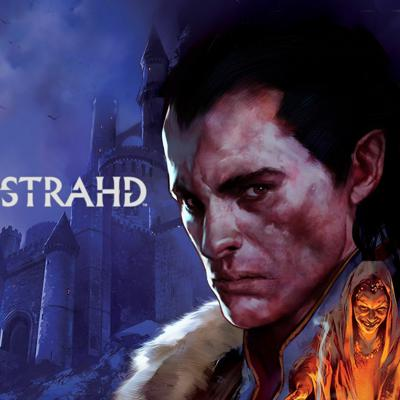 Cover art for AngelCast Episode 10: Paul Rea Interview, Necromunda and Curse of Strahd finale.