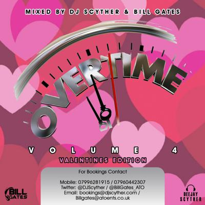 Cover art for Overtime Volume 4 - Trapsoul / Neo Soul / R&B Mixed By Billgates & DJ Scyther
