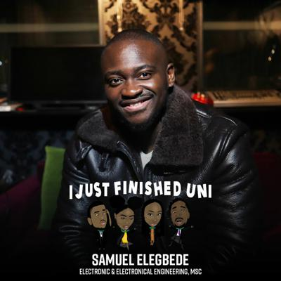 Cover art for 10. Getting Graduate Jobs, Mental Health At Uni, Being Yourself In The Office + MORE w/ Sam Elegbede