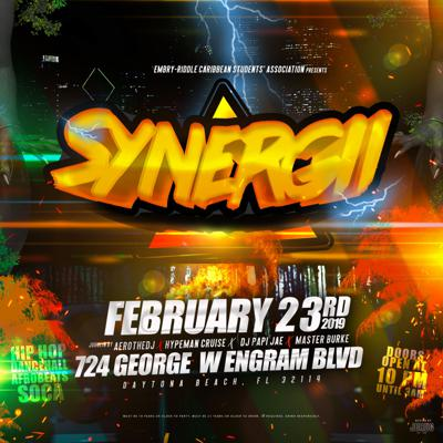 Cover art for Synergii Live Audio by AerotheDJ & HypeMan Cruise