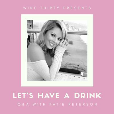 Cover art for Let's Have a Drink Q&A with Katie Peterson