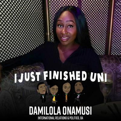 Cover art for 12. Getting Into Events Management, Starting Your Own Business & Health At Uni w/ Dami Onamusi