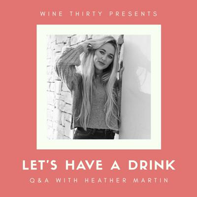 Cover art for Let's Have a Drink Q&A with Heather Martin