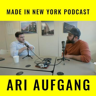 Cover art for Made in New York Podcast w/ Architect Ari Aufgang