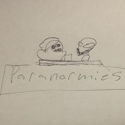 Cover art for Paranormies Episode 2: Ghosts, Unfinished Basements, and White High School
