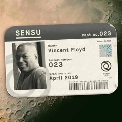 Cover art for SensuCast / 023 / Vincent Floyd