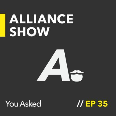 Cover art for The Ask Us Anything Live Stream | Alliance Show